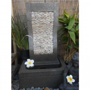 Pebble Wave Water Feature
