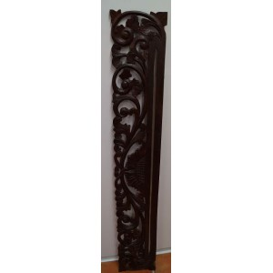 Carved Wall Hanger ( Brown)