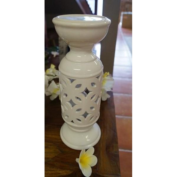 Ceramic Design Moroccan Candelabra Jade Pagoda