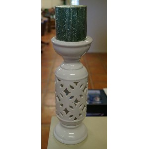 Ceramic Design Moroccan Candelabra