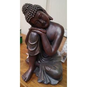 Brown Garden Buddha