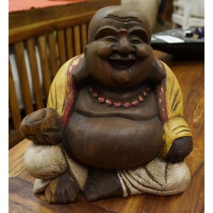 Small Fat Happy Buddha - (23 cm Tall)