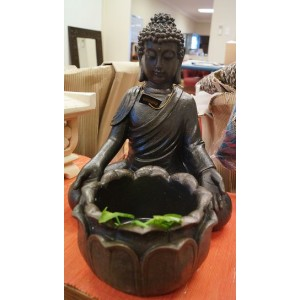 35cm Rulai Garden Buddha With Pot