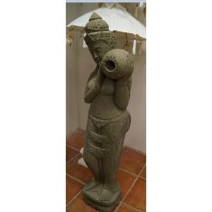 Greenstone Dewi Goddess Statue - 150cm Tall