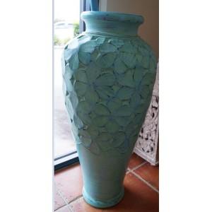 Teal Frangipani  Pot  (80 cm)