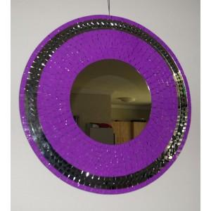 Violet Sparkle Mirror - Mirror Slightly Darker