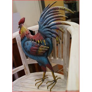 Rooster Wall Pot