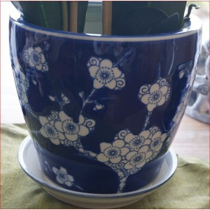 Set of Four Blossom Pots