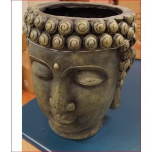 Garden Buddha Planter Head
