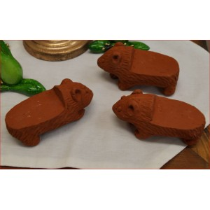 Wombat Pot Feet ( Set of 3 )