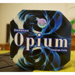Darshan - Opium Incense Coils (10 Coils)